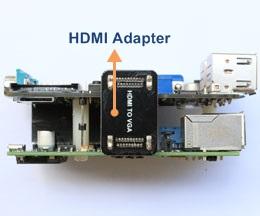 rPi X100 HDMI