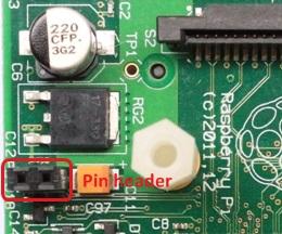 rPi X100 Pin Header